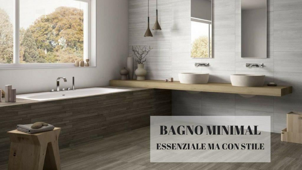 Essere minimal è uno stile di vita dove il superfluo è messo al bando. Arredare un bagno in stile minimal vuol dire creare un ambiente essenziale,fatto di sobrietà ma senza rinunciare all'eleganza.