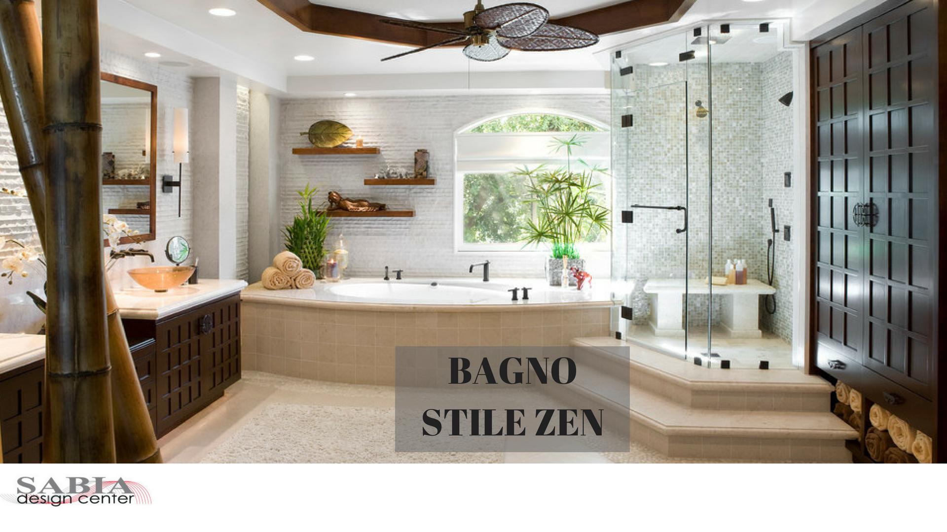 Vasche Da Bagno Zen : Arredare il bagno secondo la filosofia zen sabia design center