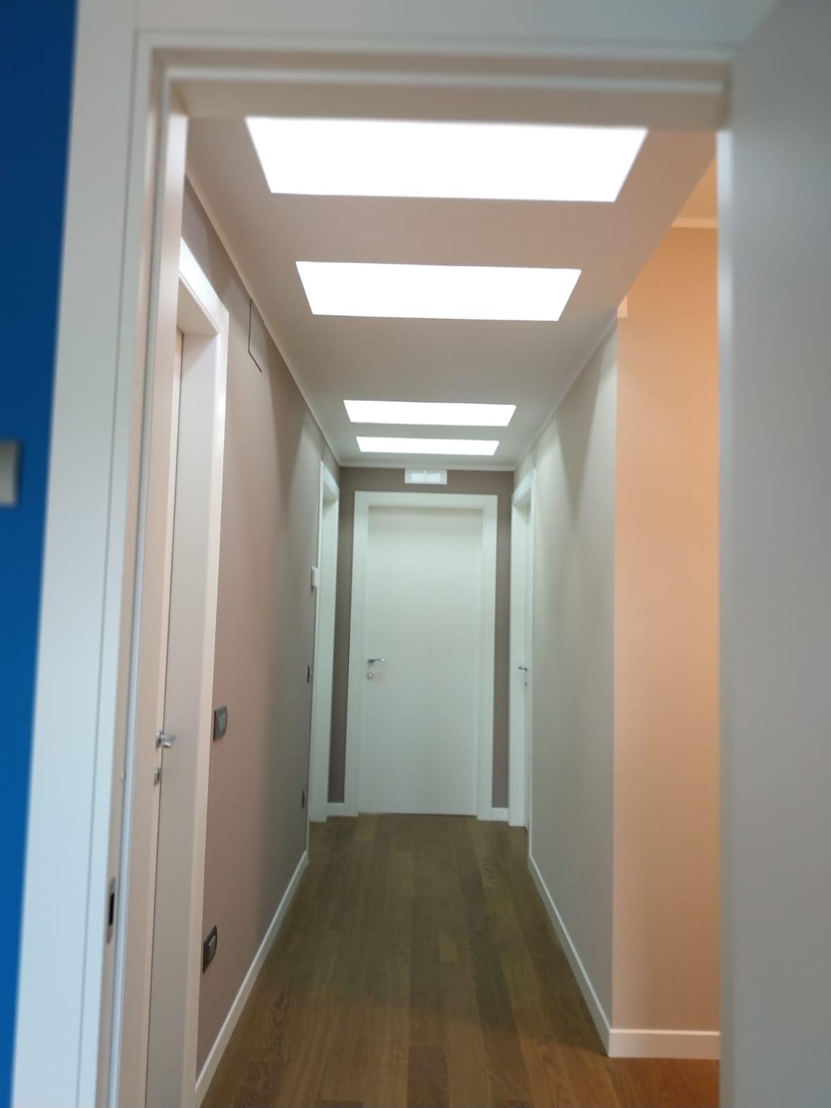 Corridoio e porta