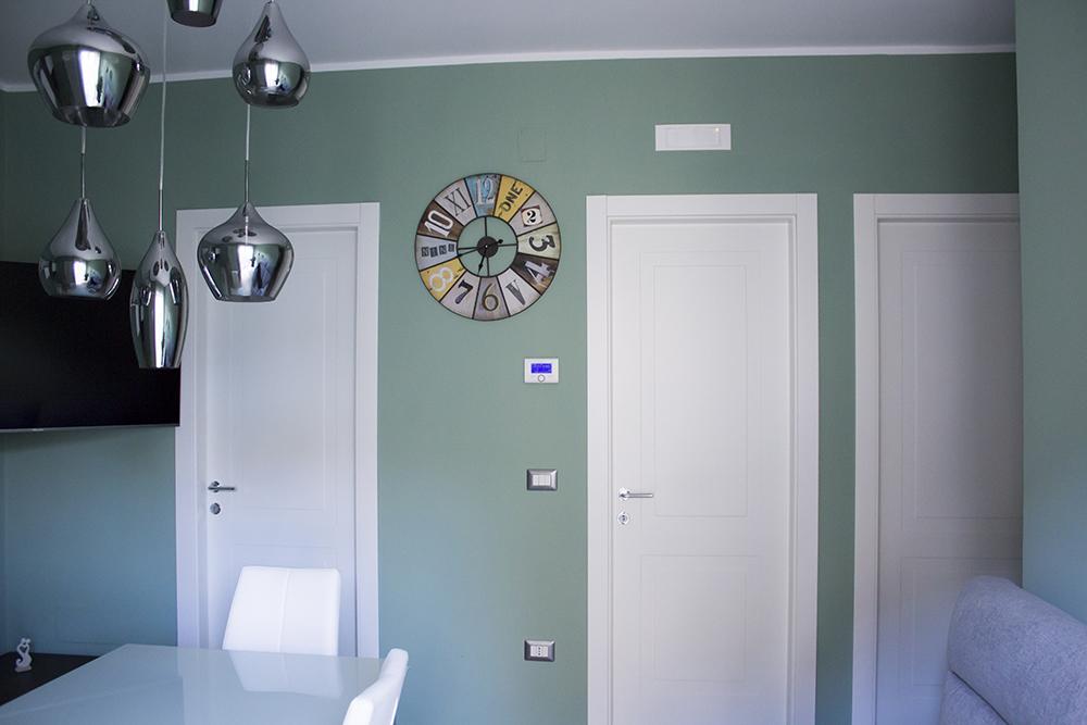 Lo stile Porcelanosa in soggiorno