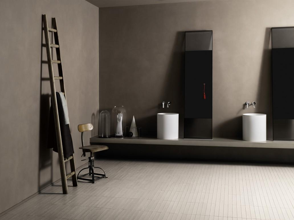 ambiente interno per spiegare come fare la pulizia dopo posa